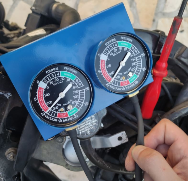 synchro carburateur resultat final